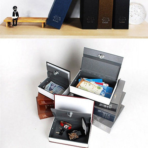 Stockage Tirelire Boîtes de sécurité secret caché Boîte de rangement Simulation Livre avec bijoux lettres clés 17 2zf D2 multicouleur