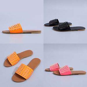 Fasion Moccasins Slipper 2020 New Dener Slipper Cerry Slide Striped Fis Slippers Causal Non-Slip Summer Fis Slippers Indoor Outdoo #64#791