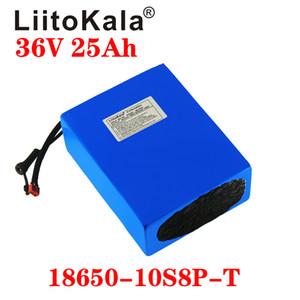 LiitoKala 36V 20Ah 25AH 30Ah 15AH 18650 de lítio Bateria e BMS fonte de alimentação de backup proteção XT60 XT90