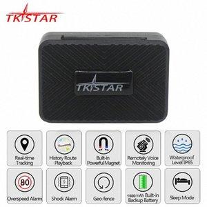 Mini GPS perseguidor del coche TKSTAR 2G GSM Tracker GPS localizador imán de voz Monitor de 25 días en espera gratuito APP PK vehículo TK905 GF07 pvzM #