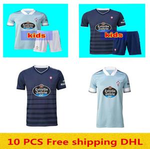 nueva 20 21 RC Celta de Vigo camisa de Jersey de fútbol Lobotka Iago Aspas Santl MINA Fútbol SISTO BOUFAL España 2020 21 CELTA VIGO hombre + niños