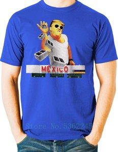 Fashion President Trump T Shirt Salt Bae Build The Wall Mexico Big Tall Cartoon T Shirt Men Funny New Unisex Tshirt Loose Size