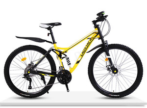 Off-road top speed drop adult male and female students one wheel double shock absorption disc brake road racing mountain bike