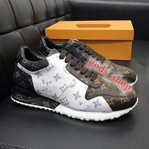 2020 latest luxury quali Top Sports Mens Shoes Fashion Leather Plus Size Run Away Sneaker Fashion Shoes for Men Runner Outdoors Chaussures