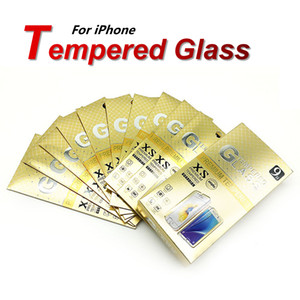 Pour iPhone 11 Pro X XR XS Température Clear Screen Screen Protector pour A50 A70 A20 Samsung A21S A20S A10E