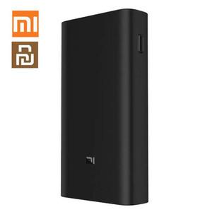 Xiaomiyoupin 원래 샤오 미 전원 은행 3 프로 20000mAh USB-C QC3.0 이동 전화를위한 고속 충전 전원 은행