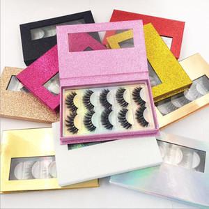 NEW Delicate 5pairs box Synthetic Fake eyelashes 3D Natural False Eyelashes Lashes Soft Eyelash Extension Makeup Kit Cilios