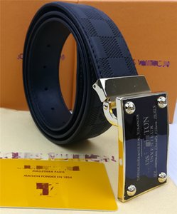 Hot Selling new high quality men and women designer belt plaid print belt trend fashion belt length 105-125cm High quality