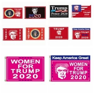 90*150 USA President Election Flag Donald Trump 2020 Keep America Great President Banner Flag American Election Support Flag 11style RRA3335