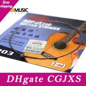 10 PCS Alice Gitarren-Schnur A203SL 2. 2B String .015 zweite Saite für Akustikgitarre Folk-Gitarren Parts