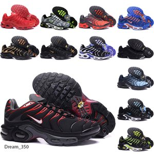 New Arrivals chaussure TN Plus running Shoes 2018 tn Men Outdoor Run Shoes Black White Trainers Hiking Sports Athletic Sneakers EUR40-45