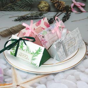 Şeker Kutusu Çanta Yeni Craft Kağıt Düğün Favor Hediye Kutuları Parti Çanta Çevre Dostu Kraft Ambalaj yq02076