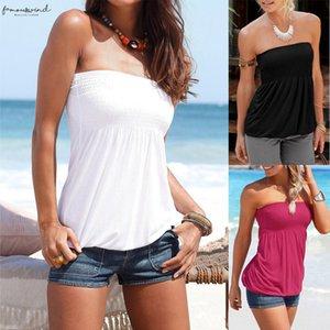 Summer Beach Women Casual Slash Neck Sexy Boho Off The Shoulder Top Blouse Solid Color Casual Boho Ladies Shirt Blusa