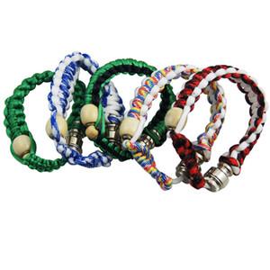 High Quality Smoking Bracelet Stealth Pipe Stash Bracelet Pipe Stash Storage Discreet for Click n Vape Tobacco Sneak a Toke DHL Free