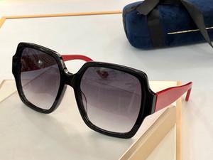 küçük Perçinler 0767S maske ile Yeni moda 0726S güneş gözlüğü bağlı mercek büyük beden oval çerçeve popüler gözlük en kaliteli güneş gözlüğü