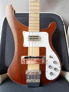 4 corde dei bassi 4003W Naturale Noce corpo ric 4003 Basso collo della chitarra elettrica Thru Body One PC collo corpo