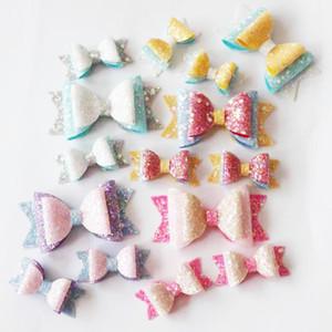 Sweet Candy Princess Hair Bows Clip Cute Girls Hair Pins School Party Dance Hairbow Hairgrips Kids Barrettes Accessories