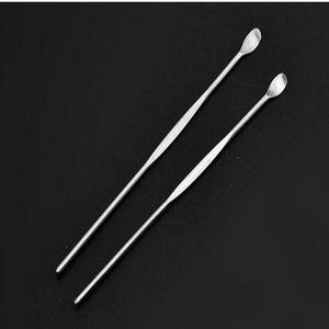 2016 Wax Dabber Tool Water Bong Wax Atomizer Ecig Stainless Steel Bakers Dab Tool Titanium Nail Dabbing Dry Herb Vaporizer Pen Dab Rigs ce20