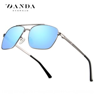 New Bicycle sun men's polarized sun glasses metal square cycling glasses 201918 sunglasses