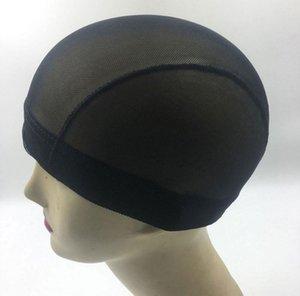 Новый купол Стиль Mesh парик Cap Black Stretch Колпачки сетка для изготовления париков Glueless Hairnet Liner Free Shipping