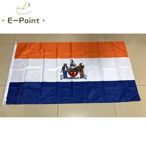Bandeira de Albany New York 3 * 5 pés (90 centímetros * 150 centímetros) de poliéster bandeira decoração presentes festivos voando bandeira casa jardim da bandeira