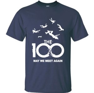 Özelleştirilmiş güzel 100 Mayıs Biz erkekler gri Boş erkek tişörtleri O-Boyun pamuk Grafik Tee üstleri için Meet Again tshirt