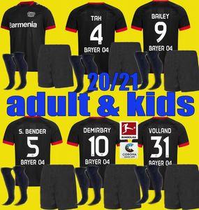 20 21 Леверкузен футбол Джерси мужчины дети Kit L.BENDER Brandt 2020 2021 Байер 04 Леверкузен HAVERTZ DEMIRBAY ALARIO Волланд Футбол набор Shirt