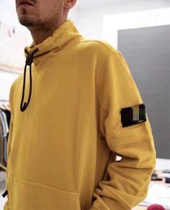 Pietra progettista isola giacche uomini donne felpe collo alto giacca giacche mens cappotto spugna pullover di design di lusso felpa paio