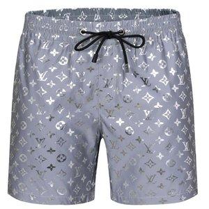Mens Designer Summer Shorts Pants Fashion 4 Colors Printed Drawstring Shorts 2019 Relaxed Homme Sweatp
