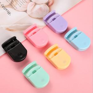 Taşınabilir Dayanıklı Kirpik Bigudi Plastik Kirpikleri Bigudi Pocket Mini Sevimli Seyahat Göz Lashes Curl Aracı Kompakt Göz Kirpik Curling