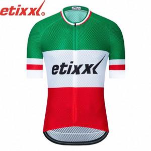 2020 2020 ETIXXL hommes cyclisme manches courtes Maillots Maillots Cyclisme Vtt Cycle vélo Vêtement de peau Vêtements K122409 GV71 #