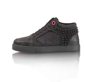 Modedesigner Sportschuhe Hohe Qualität royaums Manturnschuhe High Top Veloursleder Leder Klassische Herren Unisex Luxus Freizeit Trainer Schuhe