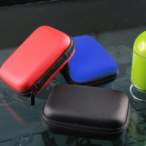 2,5-Zoll-HDD-Tasche Externe USB-Festplatte Disk-Carry Mini USB Kabel Tasche Tasche Kopfhörer Tasche für PC Laptop Hard Disk Case New