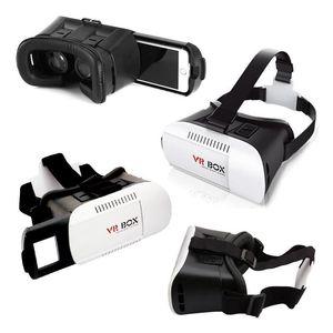 4.7-6inch المحمولة الهاتف VR نظارات صندوق السينما 3D نظارات سماعة خوذة الدعم قصر النظر المستخدمين ضمن 600 درجة
