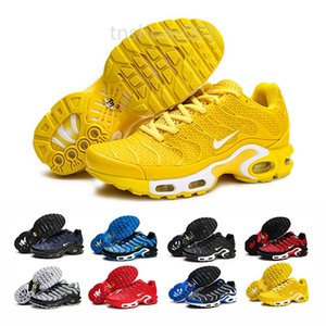 2019 Newest Men Zapatillas TN Designers Sneakers Chaussures Homme Men Basketball Shoes Mens Mercurial TN Running Shoes Eur40-46 YG99F