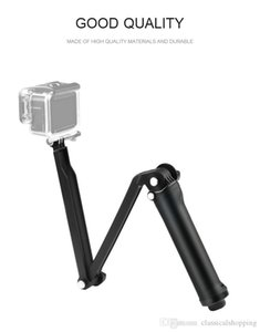 Waterproof 3 Way Grip Mount Selfie Stick action sport Camera Monopod Tripod Kit