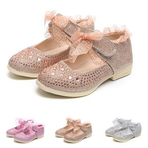 Kids Shoes Toddler Baby Girls Sneaker Dot Sole Kids Children Princess Lace Sequins Shoes mini melissa zapatos modis