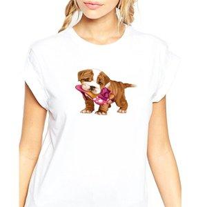 T Shirt For Women Hand Printing High Heel Shoes Cute Pent Bag Women T Shirt Brief Gift Creative Customizable
