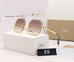 Die letzte Runde der europäische und amerikanische Herren-Sonnenbrille, Art- und SunglassesMen Luxuxentwerfer Marke 1D DR sunglas