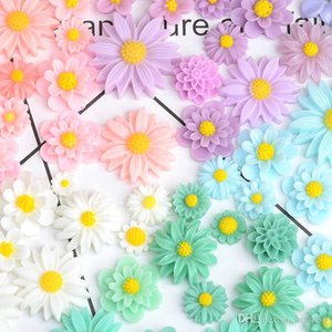 11pcs set Resin Daisy Beads DIY Phone Accessories Nail Decor Craft Suplies Jewelry Home Room Decor Arts and Crafts