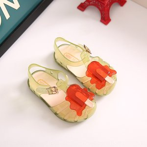 Ice cream children's student's shoes jelly children's shoes mini sed fragrant ice cream new style