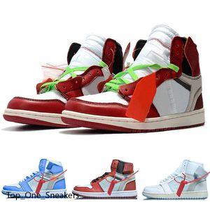 1 Obsidian Basketball Shoes 1s Black Toe Pine Green UNC Shattered Backboard 4 4s Black Cat Bred White Cement Mens Sport Sneakers