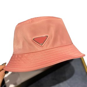 seau chapeau en nylon mens chapeaux femmes printemps été large chapeau coloré dame ras bord chapeau pare-soleil d'avant-garde 57mm pliable mode anti-UV BRW