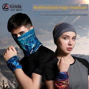 Xinda Ice Шелкового Магия UV-доказательство вс-доказательство настроенной Bicycle scarfScarf шарфа мужского открытого маска велосипедного изменчиво лицо полотенце