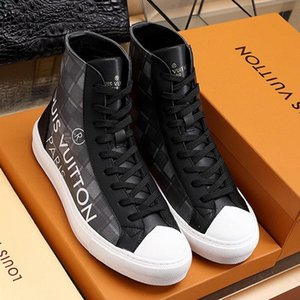 Tattoo Sneaker Boot Mens Shoes High Quality Lightweight Outdoor Walking Shoes Lace -Up High Top Luxury Sports Men Shoes Scarpe Da Uomo