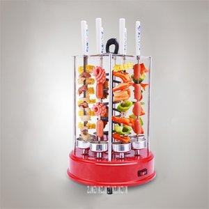 Automatische Drehelektro Vertikal Kebab Grill HSS-B108 Smokeless Rotisserie Edelstahl Grill 1350W 220V 50 Hz, 2-8 Personen