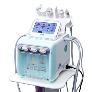 Nouveau 6 en 1 H2 O2 HydraFacial dermabrasion Hydro eau microdermabrasion Aqua Peeling RF peau Scrubber oxygène spray