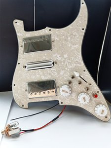 Multifunction ST HSH Humbucker Guitar Pickups Guitar Pickguard Wiring Suitable for St Guitar 20 style combinations