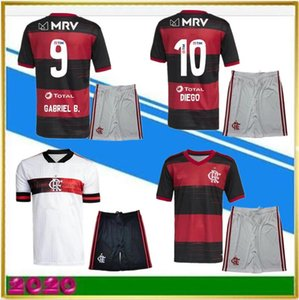 2020 Flamengo Soccer Jersey Guerrero Diego Henrique Gabriel Sports Kits 20 21 Football Flamengo CR Camiseta de Fútbol Adulte Kit enfants