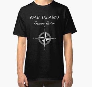 Männer Kurzarm T-Shirt Eichen-Insel-T-Shirt Schatz-Jäger Nova Scotia Geheimnis T Shirt (1) Damen T-Shirt